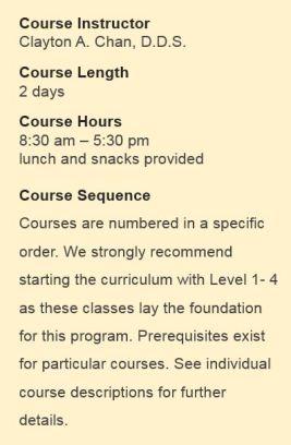 Course Instructor - OC CE 2