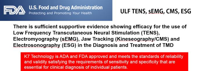 FDA and K7