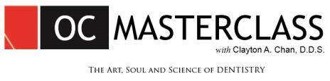 OC Masterclass Clayton Chan DDS 2